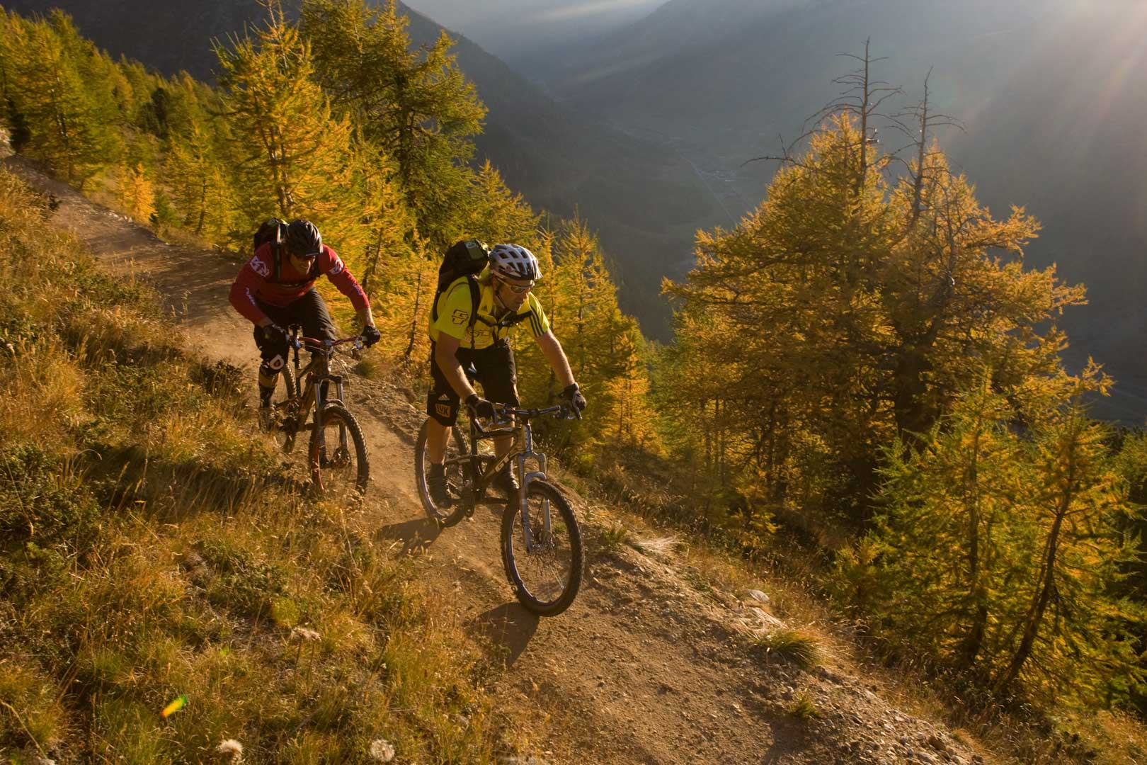 I sentieri per le mountain bike e downhill a Livigno